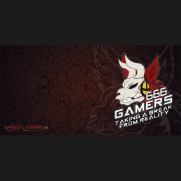 666-Gamers Mousepad